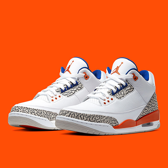 Air Jordan 3 'White/Orange'