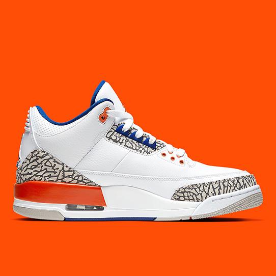 Air Jordan 3 'White/Orange'