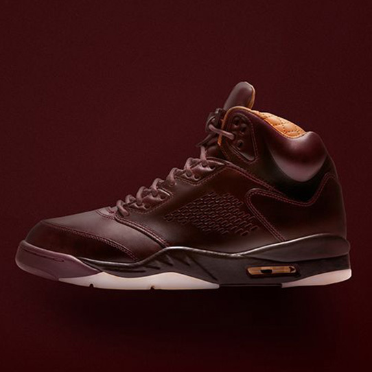 "The Air Jordan 5 Premium ""Bordeaux"""