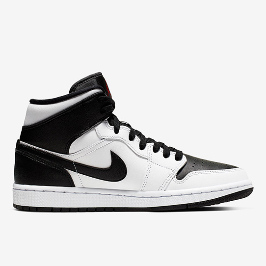 "Air Jordan 1 Mid ""Reverse Black Toe"""