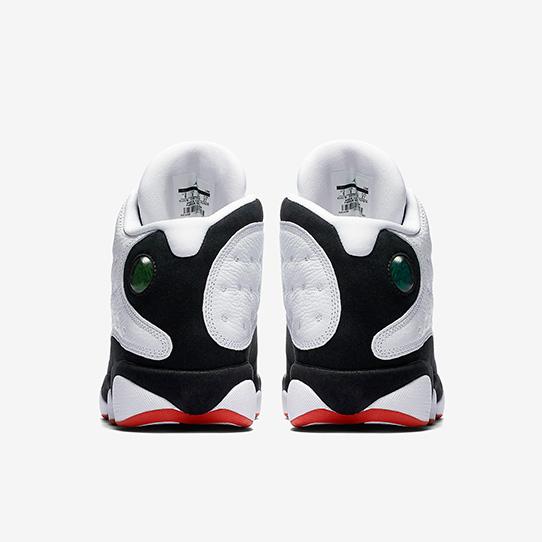 Air Jordan 13 Retro WHITE/TRUE RED-BLACK