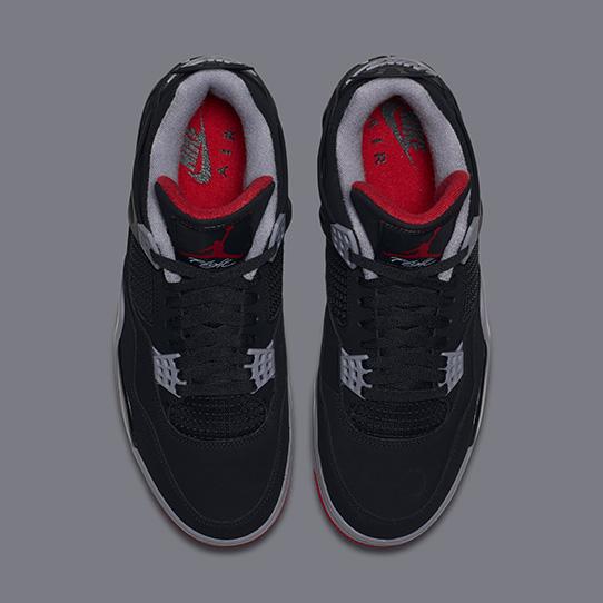 Air Jordan 4 Retro OG 'Bred'