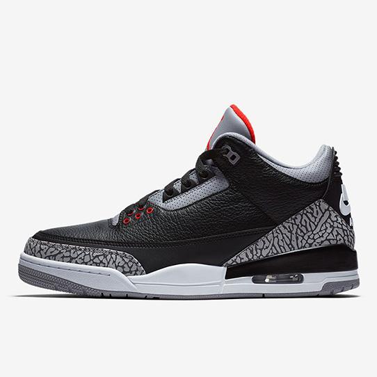 "Air Jordan III ""Black Cement"""