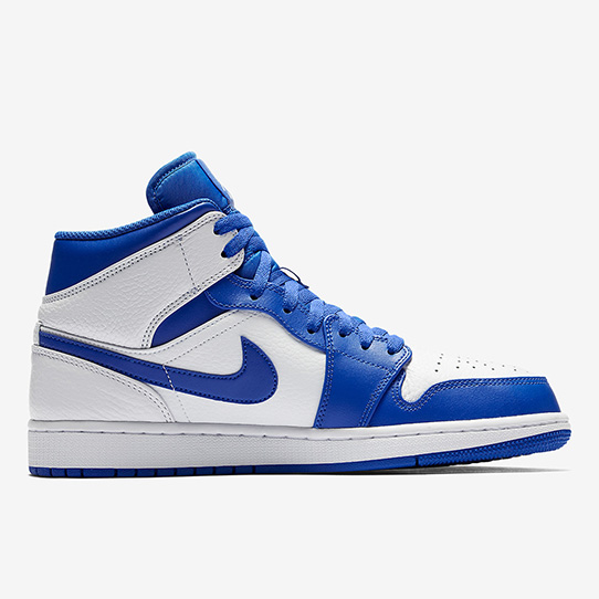 "The Air Jordan 1 Mid Releases In A ""Hyper Royal"""