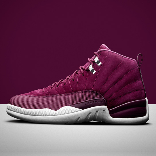 "The Air Jordan 12 ""Bordeaux Suede"""