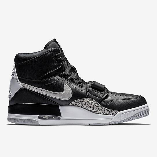 Jordan Legacy 312 'Black Cement'