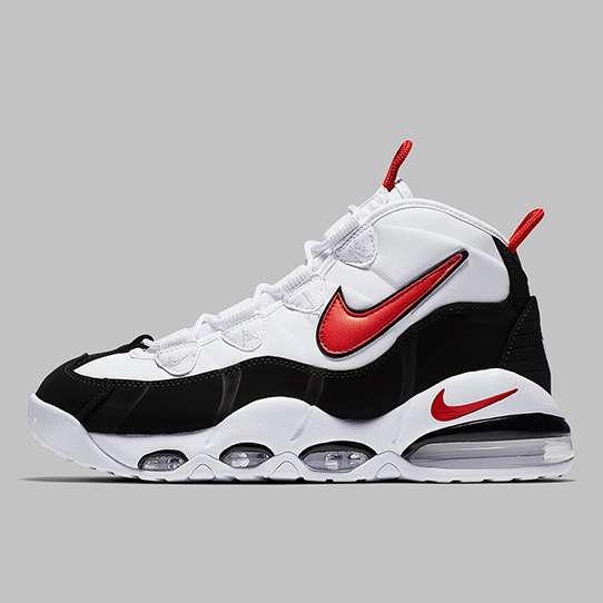Nike Air Max Uptempo White Black Red