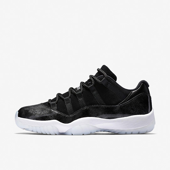 "The Air Jordan XI Low  ""Metallic Black"""