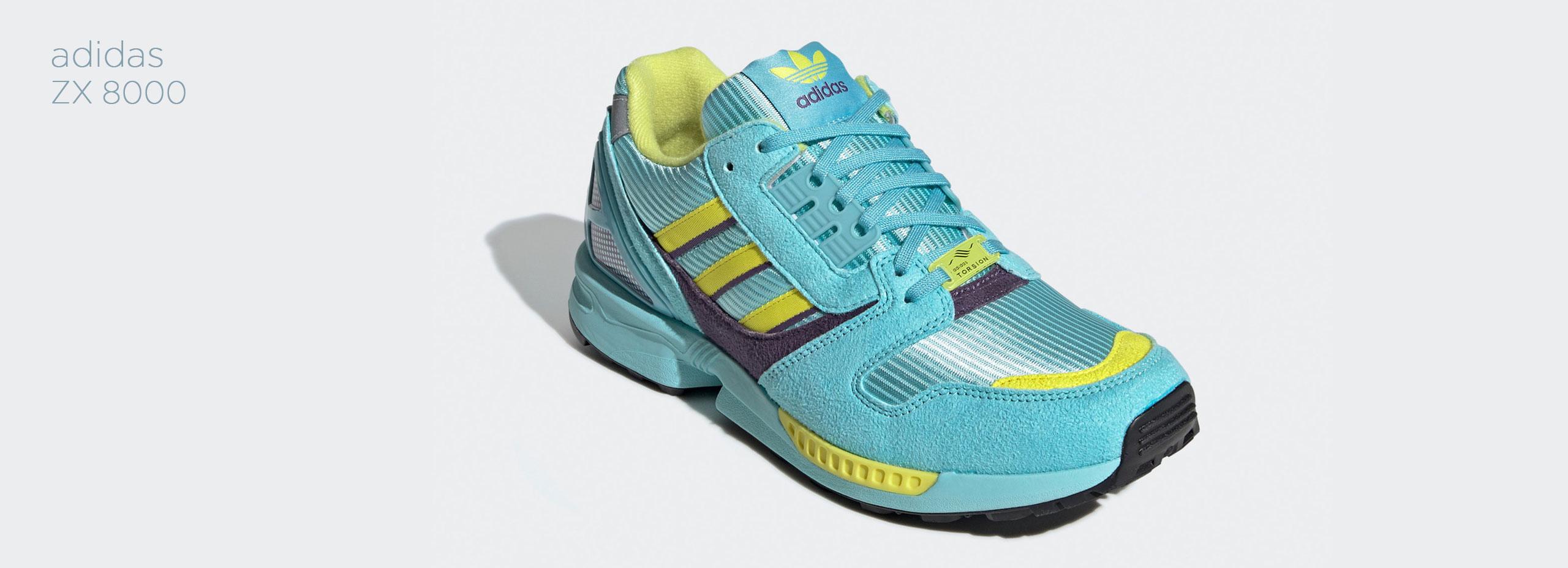 """adidas Originals ZX 8000 """"Aqua"""""""