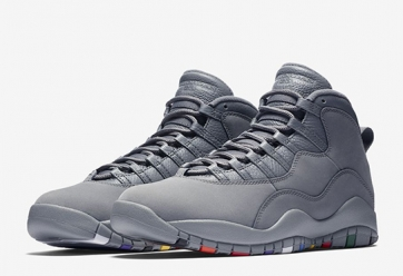 Air Jordan X Retro 'Cool Grey'