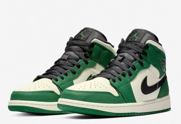 Air Jordan 1 Mid SE 'Pine Green'