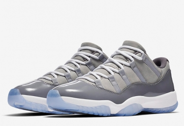 Air Jordan 11 Low 'Cool Grey'