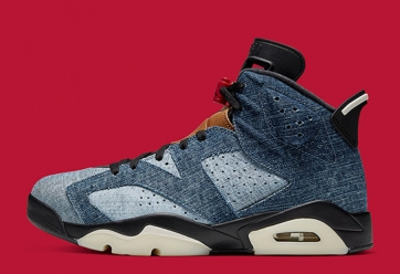 "Air Jordan 6 ""Washed Denim"""