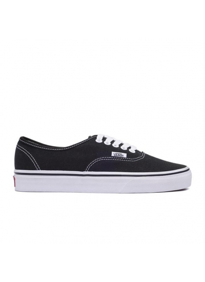 Vans Unisex Authentic Black Canvas